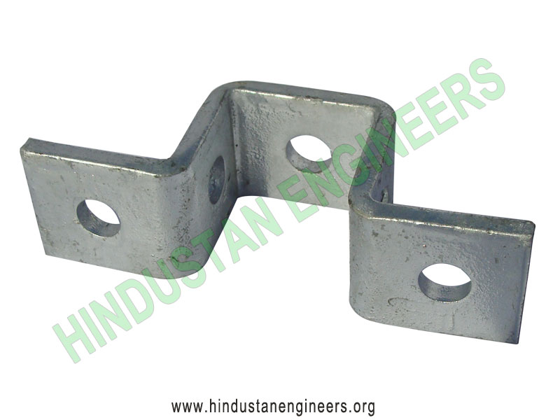 Channel Bracket Bridge Shallow Channel Fittings manufacturers exporters suppliers in India