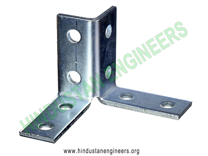 8-Hole Wing Shape Fitting Channel Fittings manufacturers exporters suppliers in India