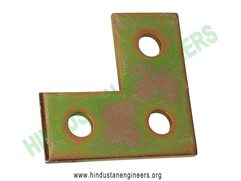 L Bracket 3 Hole Channel Fittings manufacturers exporters suppliers in India