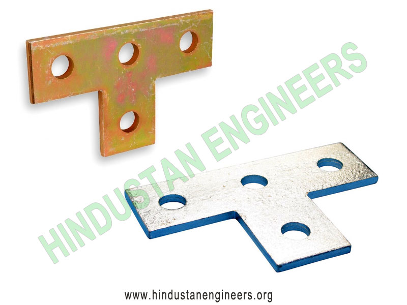 T Bracket 4 Hole Channel Fittings manufacturers exporters suppliers in India