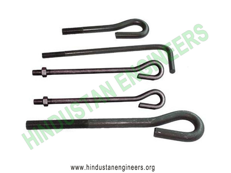 Anchor Foundation Bolts manufacturers exporters suppliers in India