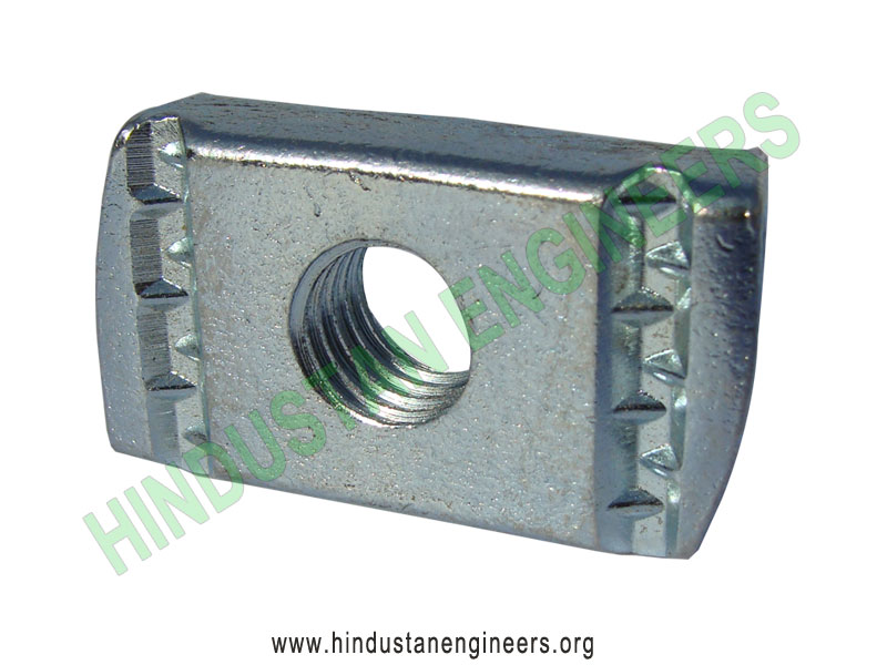 Channel Nut without Spring manufacturers exporters suppliers in India
