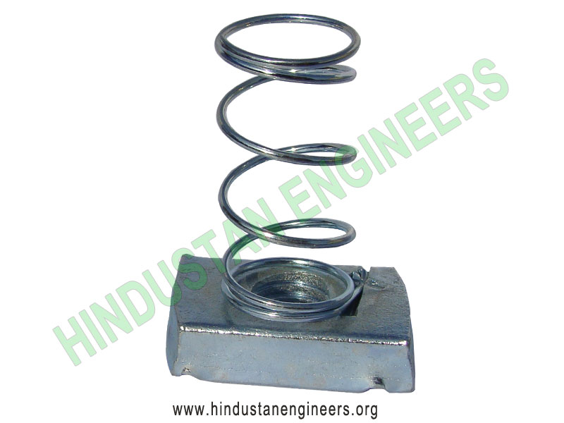 Long Spring Channel Nut manufacturers exporters suppliers in India