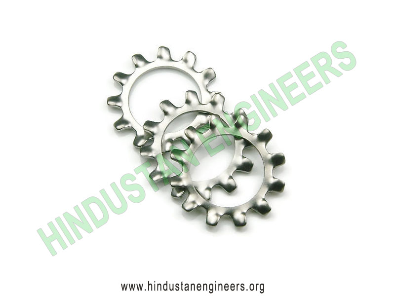 External Tooth Star Washers manufacturers exporters suppliers in India
